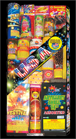 small assortments fireworks