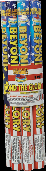 beyond the glory roman candle