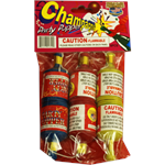 chanpagne party poppers